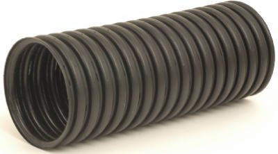 Advanced Drainage Systems 04040010H 4 Inch X 10 Ft  Corrugated Slotted Poly Drainage Tube Drainage Tubing   Fittings