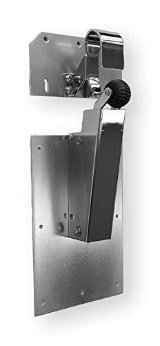 Schlie/ßkraft Stahl glanzverchromt Farbe Dictator T/ürd/ämpfer V 1600F 80N