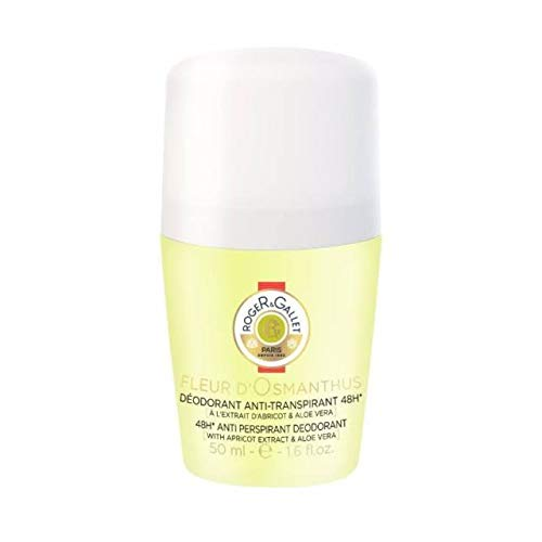 (Roger & Gallet Fleur D' Osmanthus 48H Anti Perspirant Deodorant Roll On, 1.6 Ounce)