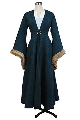 GOTEDDY Halloween Catelyn Cosplay Dress Coat Women Party Costume -