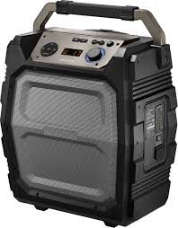 Insignia Ns Hlps5018 8  Powered Wireless 2 Way Speaker  Each    Gray Black