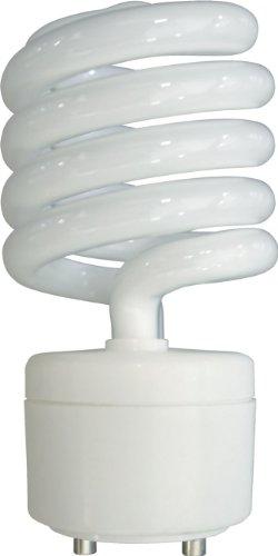 GE Lighting 76137 Energy Smart Spiral CFL 26-Watt (100-watt replacement) 1750-Lumen T3 Spiral Light Bulb with Medium Base, 1-Pack (Compact Plug 26w Fluorescent)