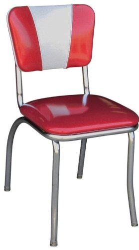 Richardson Seating Retro V-Back Diner Chair with 1