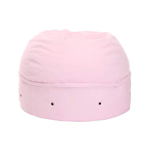 mimish Cozy Storage Beanbag, Cotton Candy