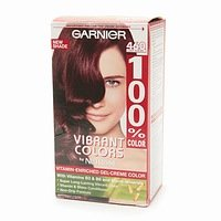 Garnier 100% Color Vitamin-Enriched Gel Crème, 460 Deep Auburn