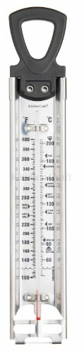 Kitchen Craft Deluxe Cooking Thermometer, Stainless Steel