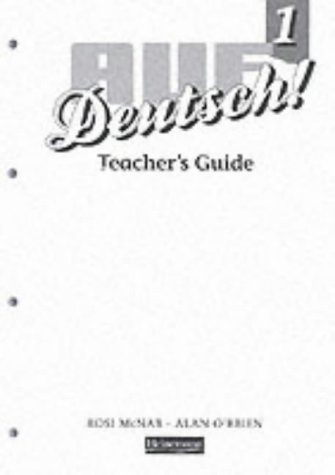 Auf Deutsch! 1 Teacher's Guide (Revised) (Auf Deutsch! for Key Stage 3) (Pt. 1)