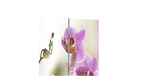 13 Panel Room Dividers - Room Divider Privacy Screen Folding Flower Print 78.7