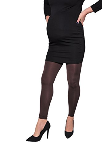 Magnolia Opaque Footless Tights Collection for Elegant Pregnant Women