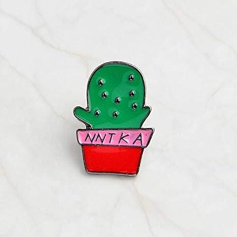 Cactus Cat Catcus Enamel Pin