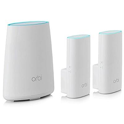 NETGEAR Orbi High-Performance AC3000 Tri-Band WiFi System (RBK50)
