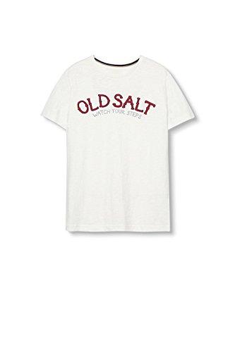 ESPRIT, Camiseta para Hombre, Azul Blanco (off White 2 111)