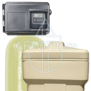 48k Water Softener with Fleck 2510SXT Metered Valve - 48,000 Grain Softener Removes Hardness and Scale