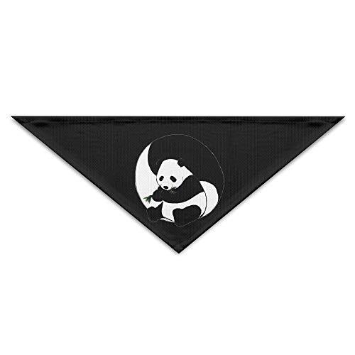 (HaiRui YunDa Panda Yin Yang Pet Scarf Dog Bandana Pet Collars Triangle Neckerchief Puppy Bibs Scarfs)