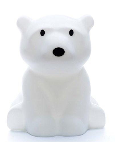 Stehlampe - Kinderlampe - Eisbär - Bodenleuchte weiss - Nachtlicht