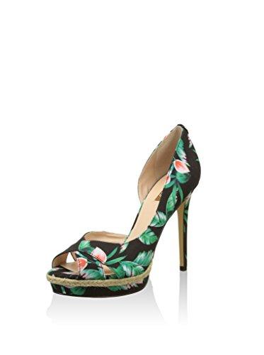 Guess Women's Pumps Highheels Stilettos Black Black / Green HfQjvkiAx