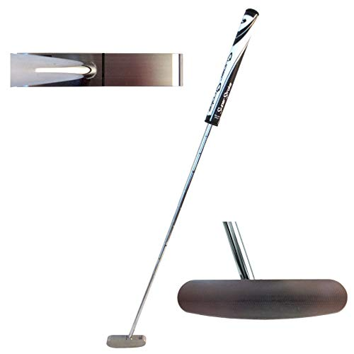 Bell Putters 2 Way Golf Putter 340g Toe Balanced with SuperStroke Slim Legacy 3.0 Putter Grip and 35