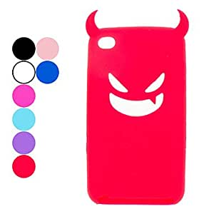 DUR Devil Protective Silica Gel Case for iPod Touch 4 (Assorted Colors) , Blue