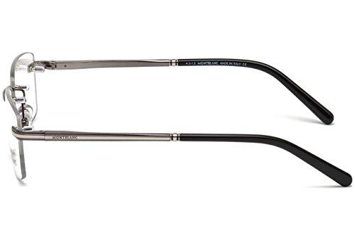 Montblanc MB0577 C57 008: Shiny gunmetal