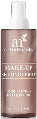 ArtNaturals Natural Makeup Setting Spray for Face - (4 FL Oz / 120ml) - Professional Long Lasting, Hydrating and All Day Extender – Aloe Vera Toner and Finishing Facial Mist