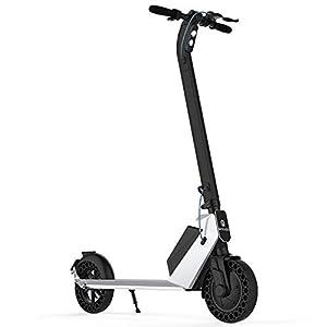 31KAFGDYXyL. SS300 HAOYF Monopattino Elettrico per Adulti 350W Motore, Scooter Elettrico A Lunga Distanza da 25 Km con Luce LED, E-Scooter…