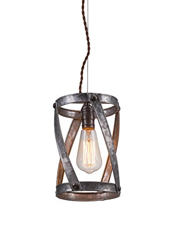 Galvanized Pendant Light Fixture