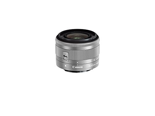 Canon EF-M 15-45mm f/3.5-6.3 Image Stabilization STM Zoom Lens (Silver)