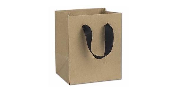 "100 Greenwich Green Manhattan Gift Paper Bags Eco Euro-Shoppers 5 x 4 x 6/"""
