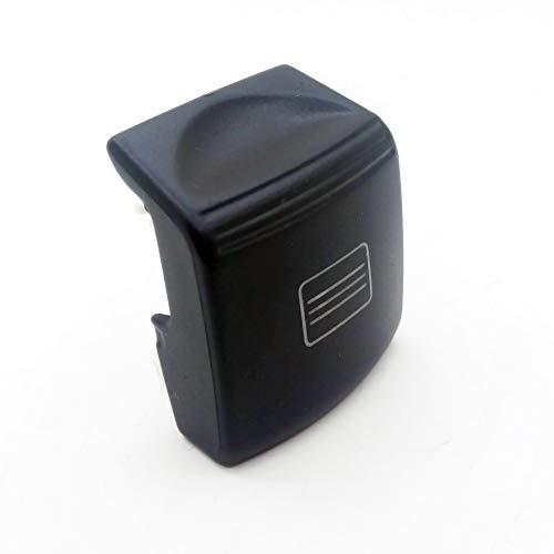 Sunroof Window Switch Button Cover Cap for Mercedes-Benz C Class W204 E Class W212 A207 C207 CLS Class W218 Black