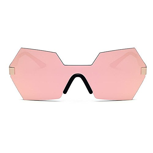de de Personalidad Que Gafas Gu Sola Libre de para Mujeres Forma viaja de la de Irregular Que Sol Pieza una Color Color Aire al C6 Protección de UV Peggy conducen C7 Lente 0pqY66T