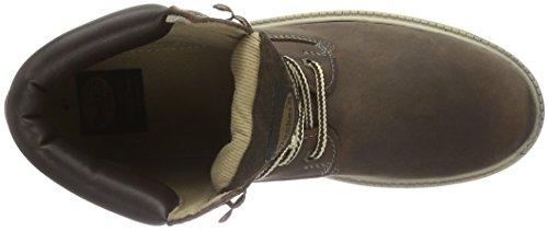 Unisex Braun 35fn699 Marrone Adulto Cafe Dockers by Gerli 400320 Stivaletti 320 qwUnX8R