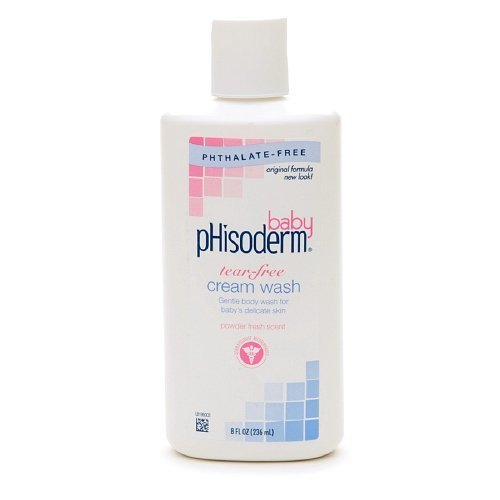 Phisoderm Tear-Free Cream Wash 8 fl oz (236 ml)(pack of 2)