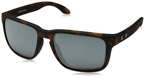 Oakley Tortoise Lens - Oakley Men's OO9417 Holbrook XL Square Sunglasses, Matte Brown Tortoise/Prizm Black, 59 mm