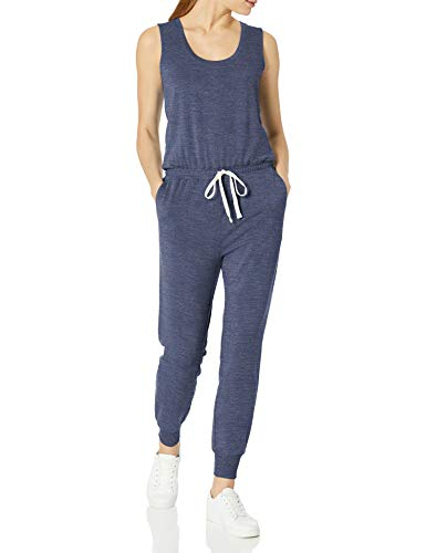 Amazon Essentials Women's Studio Terry Fleece Jumpsuit