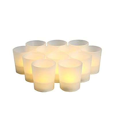 Set of 12 LED Party Lights - in 3 colors