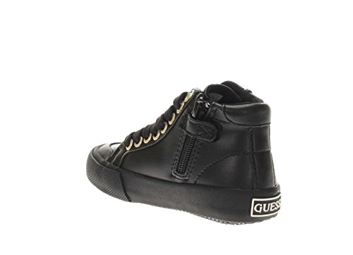 GUESS Zapatillas de Material Sintético Para Niña Negro Negro