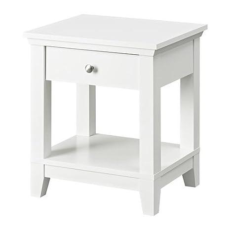 Comodino Ikea Bianco.Herefoss Ikea Comodino Bianco 52 X 44 Cm Amazon It Casa