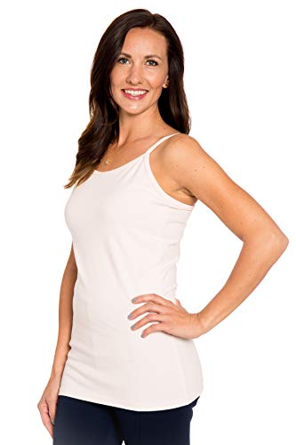 Not Enough Neck Cream - Heirloom Clothing High Neck Camisole Cream X-Large