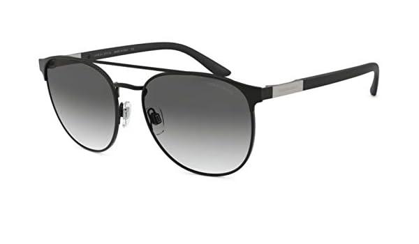 Sunglasses Giorgio Armani AR 6083 300111 MATTE BLACK at ...