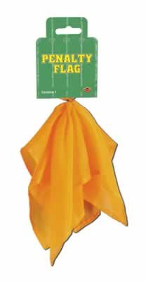 12 Pack Penalty Flag 9in by Beistle