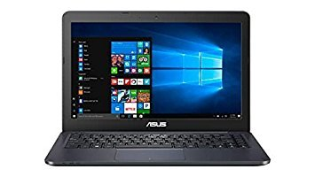 Asus 14 inch FHD (1920 x 1080) Portable Laptop, Intel Dual-Core Processor up to 2.48GHz, 4GB RAM, 32GB eMMC, HDMI, VGA, Webcam, Bluetooth, WiFi, Windows 10 (Windows Update Slows Computer To A Crawl)
