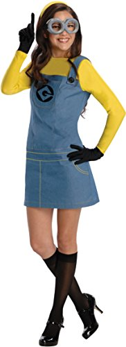 Best Halloween Costumes Minion (Rubie's Women's Despicable Me 2 Minion Costume with Accessories, Multicolor, X-Small)