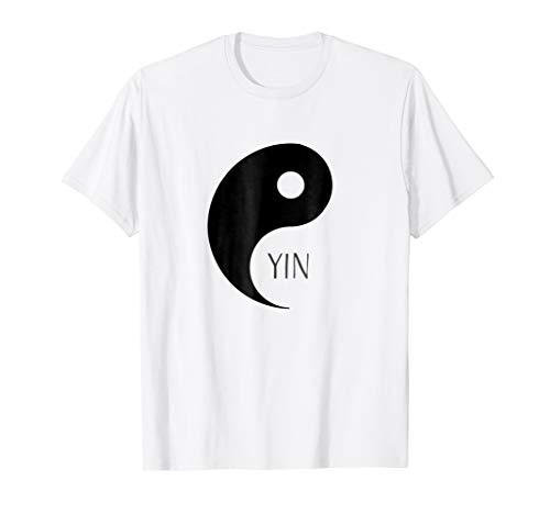 Yin Yang Couples Funny Halloween T-shirt for Best Friends]()