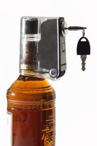 Tantalus 6 Pk. Of Liquid Bottle Locks Keeps Hooch Out of the Wrong Hands