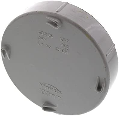 Vinidex Stormwater Cap Access Threaded DWV 100mm Repair