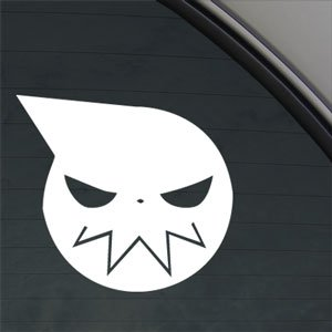 Crawford Graphix Soul Eater Decal Anime Car Truck Bumper Window - Eater Sticker