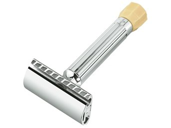 Merkur Progress Safety Razor, Chrome Plated
