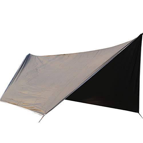 Waterproof Tarp Sun Shelter Outdoor Hammock Canopy Durable Tent Outdoor Supplies by Generic