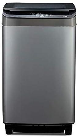Voltas Beko 8.0 kg 5 Star Fully-Automatic Top Loading Washing Machine (WTL80UPGB, Gray) 2020
