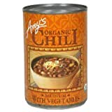Amy's Organic Chili with Vegetables Medium 14.7 oz (Pack of 3)